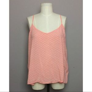 Old Navy Pineapple Tank w/ Back Detail